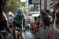 Spanish National Champion Gorka Izagirre (ESP/ASTANA) after finishing. <br /> <br /> 105TH Liège-Bastogne-Liège 2019 (1.UWT)<br /> 1 Day Race Liège-Liège (256km)<br /> <br /> ©kramon