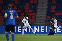 Nicolo Barella of Italy scores a goal <br /> Uefa European friendly football match between Italy and Czech Republic at stadio Renato Dall'Ara in Bologna (Italy), June, 4th, 2021. Photo Image Sport / Insidefoto