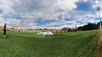 BOGOTA - COLOMBIA, 20-09-2020: Fortaleza CEIF  y Llaneros en partido por la fecha 8 del Torneo BetPlay DIMAYOR I 2020 jugado en el estadio Metropolitano de Techo de la ciudad de Bogota. / Fortaleza CEIF and Llaneros in match for the date 8 as part of BetPlay DIMAYOR Tournament I 2020 played at the Metropolitano de Techo stadium of Bogota city. Photos: VizzorImage / Samuel Norato / Contribuidor