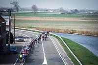 2nd chasing group<br /> <br /> 82nd Gent – Wevelgem in Flanders Fields 2019 (1.UWT)<br /> Deinze – Wevelgem: 251,5km<br /> ©kramon