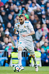 Karim Benzema of Real Madrid in action during the La Liga 2017-18 match between Real Madrid and Deportivo Alaves at Santiago Bernabeu Stadium on February 24 2018 in Madrid, Spain. Photo by Diego Souto / Power Sport Images