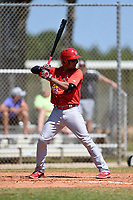 St. Louis Cardinals Edmundo Sosa (12) during a minor league spring training game against the Miami Marlins on March 31, 2015 at the Roger Dean Complex in Jupiter, Florida.  (Mike Janes/Four Seam Images)