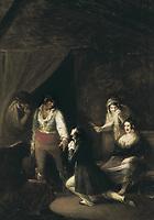 ALENZA y NIETO, Leonardo (1807-1845). The Revenge. 1830. Oil on canvas. SPAIN. Madrid. Prado Museum.