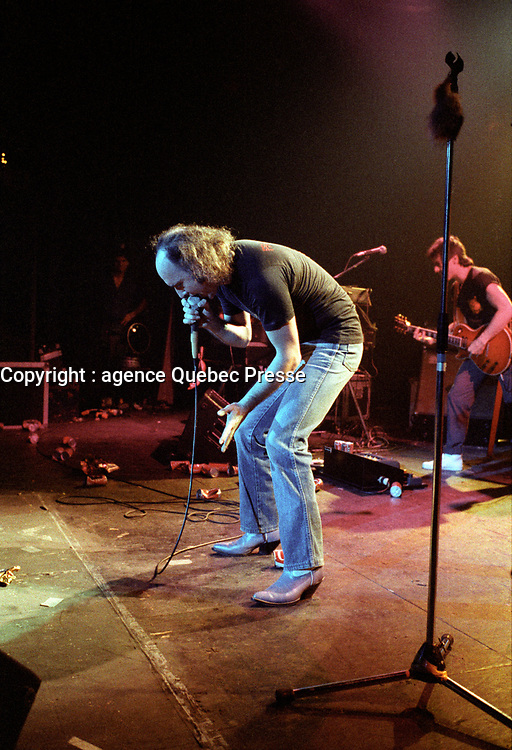 LUCIEN FRANCOEUR,<br /> Octobre 1983<br /> <br /> PHOTO : Agence Quebec Presse