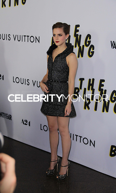 LOS ANGELES, CA - JUNE 04: Emma Watson arrives at the 'The Bling Ring' - Los Angeles Premiere at Directors Guild Of America on June 4, 2013 in Los Angeles, California. (Photo by Celebrity Monitor)