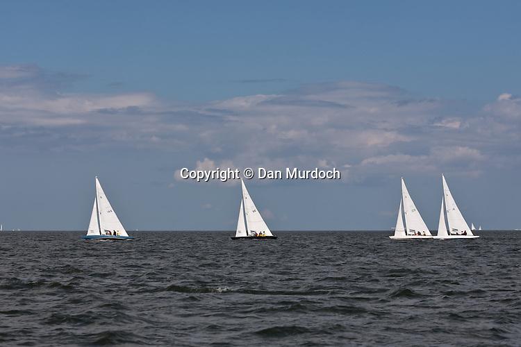 Racing Atlantic sailboats
