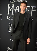 """LOS ANGELES, USA. September 30, 2019: Harris Dickinson at the world premiere of """"Maleficent: Mistress of Evil"""" at the El Capitan Theatre.<br /> Picture: Jessica Sherman/Featureflash"""