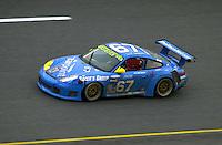 The #67 Racer's Group Porsche..39th Rolex 24 at Daytona, 3/4 February,2001 Daytona International Speedway  Daytona Beach,Florida,USA.©F.Peirce Williams 2001 ..