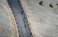 descent of the Mont Ventoux towards Malauscène<br /> <br /> Stage 11 from Sorgues to Malaucène (199km) running twice over the infamous Mont Ventoux<br /> 108th Tour de France 2021 (2.UWT)<br /> <br /> ©kramon