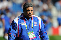 Stephen Betham, Samoa Head Coach, during the warm up before Match 6 of the Rugby World Cup 2015 between Samoa and USA - 20/09/2015 - Brighton Community Stadium, Brighton <br /> Mandatory Credit: Rob Munro/Stewart Communications