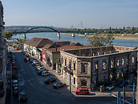 Ruine bei der Brankova, Belgrad, Serbien, Europa<br /> Ruin near Brankova, Belgrade, Serbia, Europe