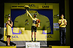 Adam Yates (GBR) Mitchelton-Scott retains the Yellow Jersey at the end of Stage 6 of Tour de France 2020, running 191km from Le Teil to Mont Aigoual, France. 3rd September 2020.<br /> Picture: ASO/Pauline Ballet   Cyclefile<br /> All photos usage must carry mandatory copyright credit (© Cyclefile   ASO/Pauline Ballet)