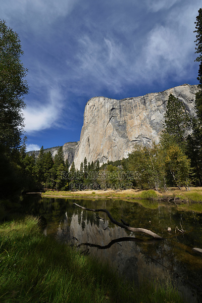 El Capitan and Merced River, Yosemite National Park, California, USA
