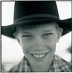 JULY 1995    - ROCKHAMPTON, Australia   -  A young cattleman in Australia's Beef capital..©1995 Andrew Kaufman, All rights reserved.