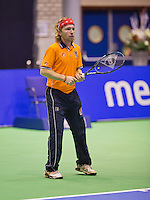 December 18, 2014, Rotterdam, Topsport Centrum, Lotto NK Tennis, KNLTB Pim Nip<br /> Photo: Tennisimages/Henk Koster