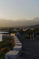 Promenade in Porto Novo, Santo Antao, Kapverden, Afrika