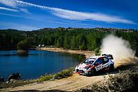 10th October 2020, Alghero, Sardinia, Italy; WRC Rally of Sardinia;   Evans