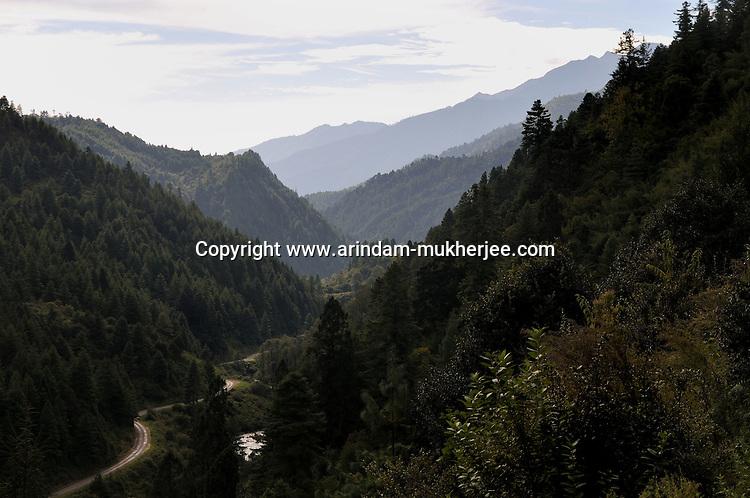 Bumthang in early morning, Bhutan. Arindam Mukherjee.