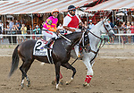 September 04, 2021: Max Player #2 ,ridden by jockey Ricardo Santana Jr. win the Grade 1 Jockey Club Gold Cup Stakes at Saratoga Race Course in Saratoga Springs, N.Y. on September 4th, 2021. Rob Simmons/Eclipse Sportswire/CSM