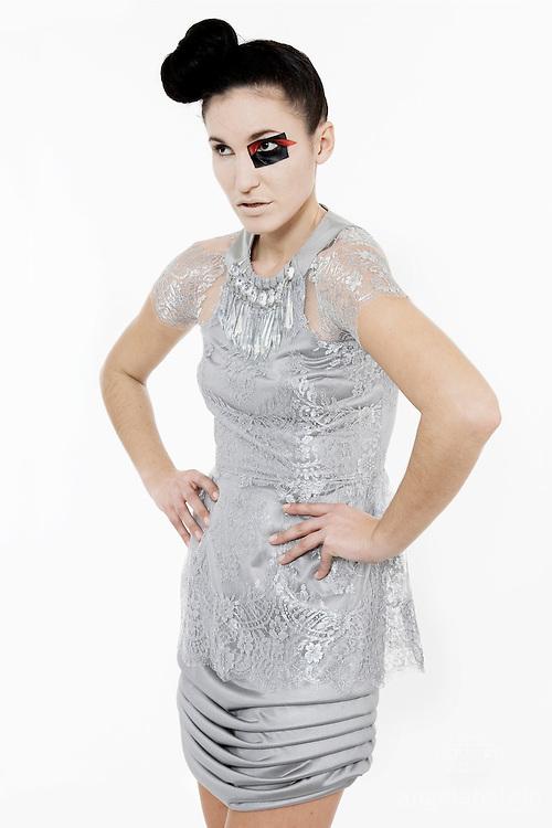 Fashion Designer: Claire O'Connor.Photographer: Angela Halpin.Model: Gorana Nedic.Make Up Artist: Rong Wong
