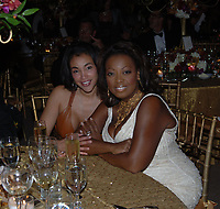 WELLINGTON, FL - APRIL 22: (EXCLUSIVE COVERAGE)  Star Jones with pal Kaci Reid were the life of the party at the Stanford Financial Group US Open Polo Ball at the International Polo Club on April 22, 2005 in Wellington, Florida<br /> <br /> People:  Star Jones, Kaci Reid