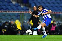 14th March 2021; Dragao Stadium, Porto, Portugal; Portuguese Championship 2020/2021, FC Porto versus Pacos de Ferreira; Jesús Corona of FC Porto takes a shot at goal