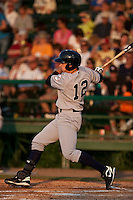 April 23 2010: Jack Rye (12) of the Tampa Yankees during a game vs. the Daytona Beach Cubs at Jackie Robinson Ballpark in Daytona Beach, Florida. Tampa, the Florida State League High-A affiliate of the New York Yankees, won the game against Daytona, affiliate of the Chicago Cubs, by the score of 11-3  Photo By Scott Jontes/Four Seam Images