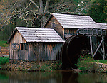 Blue Ridge Parkway, VA<br /> Mabry Mill in early spring.  Operated by E.B. Mabry from 1910 - 1035