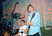 05 June 2020 - British rock icon Paul Weller (The Jam and The Style Council) has announced a new album titled 'On Sunset' release for June 2020.  File Photo: Paul Weller performs on stage in 1992 at the Concert Hall, Toronto, Ontario, Canada. Photo Credit: Brent Perniac/AdMedia
