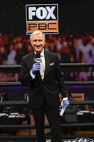 LOS ANGELES - JANUARY 30: Ring announcer Jimmy Lennon Jr. on Fox Sports PBC fight night at the Shrine Auditorium and Expo Hall in Los Angeles, California on January 30, 2021. (Photo by Frank Micelotta/Fox Sports)