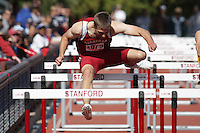 5 April 2008: Josh Hustedt during the Stanford Invitational at the Cobb Track and Angell Field in Stanford, CA.