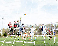 The Winthrop University Eagles played the UNC Wilmington Seahawks in The Manchester Cup on April 5, 2014.  The Seahawks won 1-0.  Sam Williams (0)