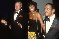 Frank Sinatra Dionne Warwick Sammy Davis Jr. 1989 Photo By John Barrett/PHOTOlink