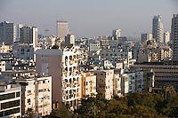 Asie/Israel/Tel-Aviv-Jaffa: les immeubles du Front de mer sur le boulevard Ha Yarkon vus depuis l'Hotel Hilton