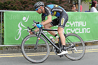 "Rounding a bend during the Abergavenny Festival of Cycling ""Grand Prix of Wales"" race on Sunday 17th 2016<br /> <br /> <br /> Jeff Thomas Photography -  www.jaypics.photoshelter.com - <br /> e-mail swansea1001@hotmail.co.uk -<br /> Mob: 07837 386244 -"