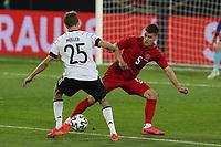 2nd June 2021, Tivoli Stadion, Innsbruck, Austria; International football friendly, Germany versus Denmark;  Thomas Mueller 25 Germany and Joakim Maehle 5 Denmark