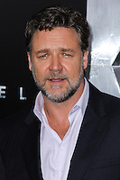 """NEW YORK, NY - JUNE 10: Russell Crowe attends the """"Man Of Steel"""" World Premiere at Alice Tully Hall at Lincoln Center on June 10, 2013 in New York City. (Photo by Celebrity Monitor)"""