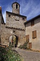 Europe/France/Midi-Pyrénées/81/Tarn/Cordes: Porte de l'Horloge