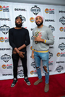 LOS ANGELES - APRIL 8:  JR Gittens and Will Gittens at Mariana Velletto Listening Event inside Kevin Hart's HartBeat Studios in Los Angeles, CA on April 8, 2021. (Photo by Adrian Sidney/PictureGroup)