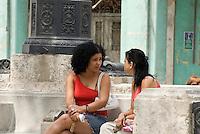 Cuba, Habana,  am Paseo de Marti (Prado)