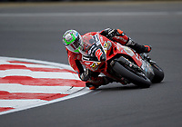 Glenn Irwin (2) of Be Wiser Ducati during practice in the MCE BRITISH SUPERBIKE Championships 2017 at Brands Hatch, Longfield, England on 13 October 2017. Photo by Alan  Stanford / PRiME Media Images.