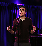 "Kyle McArthur during the Sneak Peak Presentation of the World Premiere Musical ""Superhero"" on January 16, 2019 at the Green Room 42 in New York City."