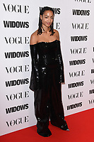 """Magaajyia Silberfield<br /> arriving for the """"Widows"""" special screening in association with Vogue at the Tate Modern, London<br /> <br /> ©Ash Knotek  D3457  31/10/2018"""
