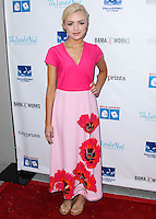LOS ANGELES, CA, USA - APRIL 27: Peyton List at the Milk + Bookies 5th Annual Story Time Celebration held at the Skirball Cultural Center on April 27, 2014 in Los Angeles, California, United States. (Photo by Xavier Collin/Celebrity Monitor)