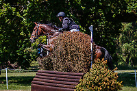 AUS-Sammi Birch rides Hunter Valley II during the Cross Country for the CCI-S 4*. 2021 GBR-Bicton International Horse Trials. Devon. Great Britain. Sunday 13 June. Copyright Photo: Libby Law Photography