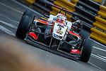 Nicholas Latifi races the Formula 3 Macau Grand Prix during the 61st Macau Grand Prix on November 15, 2014 at Macau street circuit in Macau, China. Photo by Aitor Alcalde / Power Sport Images