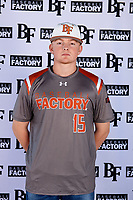 Kaden Dydalewicz (15) of Frisco High School in Frisco, Texas during the Baseball Factory All-America Pre-Season Tournament, powered by Under Armour, on January 12, 2018 at Sloan Park Complex in Mesa, Arizona.  (Mike Janes/Four Seam Images)