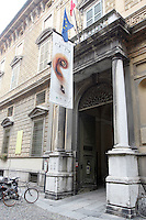 L'entrata del Museo Stradivari a Cremona.<br /> The entrance of the Stradivari Museum in Cremona.<br /> UPDATE IMAGES PRESS/Riccardo De Luca