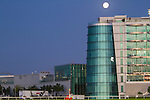 MEYDAN,DUBAI-MARCH 24: Moon and stand at Meydan Racecourse on March 24,2016 in Meydan,Dubai (Photo by Kaz Ishida)