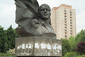Statue of murdered pre-war German communist leader Ernst Thalmann in the Prenzlauer Berg district of Berlin